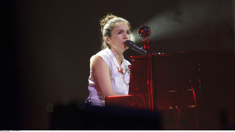 Yael Naim en concert au festival Fnac Live, 21 juillet 2016  (SADAKA EDMOND/SIPA)