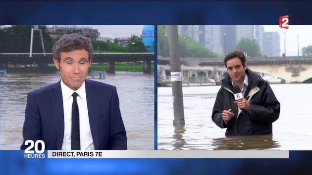"""A Paris, """"la Seine a gagné au moins 30 m en largeur"""""""