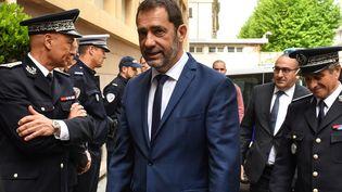 Le ministre de l'Intérieur Christophe Castaner, vendredi 3 mai 2019 à Toulon (Var). (GERARD JULIEN / AFP)