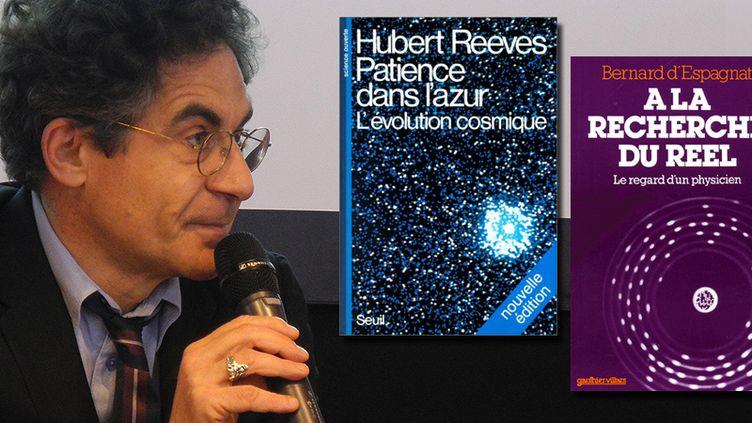 Etienne Klein, physicien et philosophe au salon du livre 2014  (Laurence Houot / Culturebox)