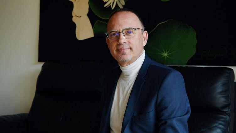 Le maire de Bourges, Yann Galut, le 2 avril 2019. (PIERRICK DELOBELLE / MAXPPP)