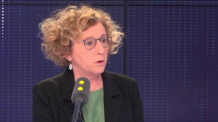 Muriel Pénicaud, ministre du Travail, jeudi 14 février 2019, sur franceinfo. (FRANCEINFO / RADIOFRANCE)