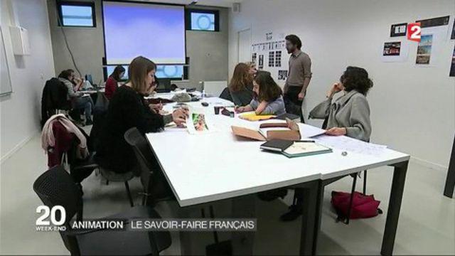 Animation : le savoir-faire français