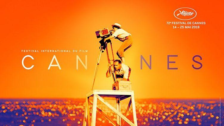 La nouvelle affiche du Festival de Cannes 2019. (© 1994 Agnès Varda et ses enfants)