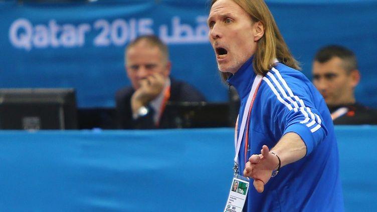 Le technicien suédois Staffan Olsson (MARWAN NAAMANI / AFP)