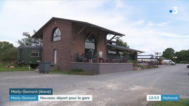 Aisne : une gare transformée en restaurant