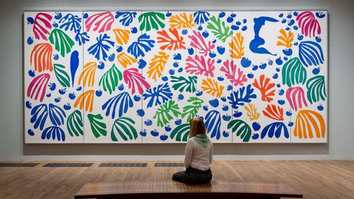 Henri Matisse, expo The Cut-outs à la Tate Gallery à Londres  (LEON NEAL / AFP)