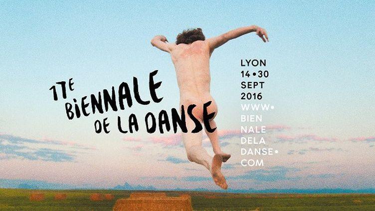 Affiche de la 16e Biennale de la danse de Lyon  (Ryan McGinley Courtesy of the artist and Team Gallery )