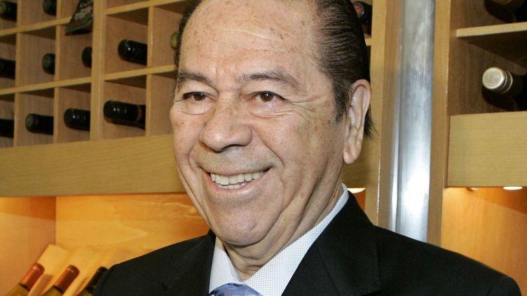 Le chanteur, compositeur acteur chilien Lucho Gatica en 2007  (Llanquin/AP/SIPA)