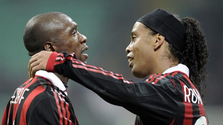 Seedorf et Ronaldinho (Milan AC)