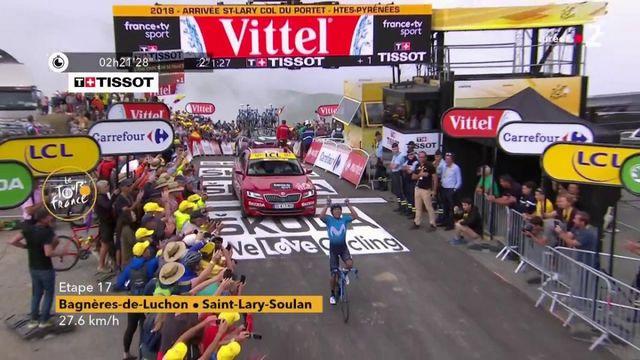 Tour de France : victoire de Nairo Quintana sur la 17e étape