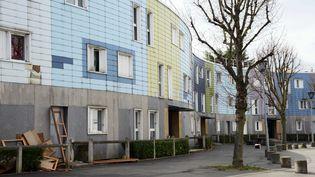 Le quartier dela Grande Borne à Grigny (Essonne), le 11 avril 2015. (WINFRIED ROTHERMEL / PICTURE ALLIANCE)