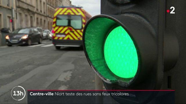 Niort : des rues sans feux tricolores