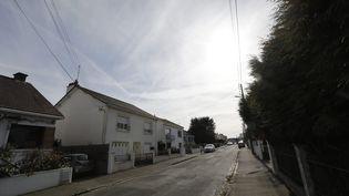 Le domicile de la famille disparue à Orvault (Loire-Atlantique), photographié le 25 février 2017. (MAXPPP)