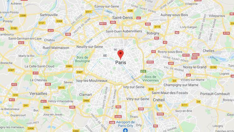Paris. (GOOGLE MAPS)