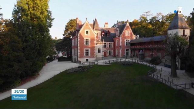 Déconfinement : première visite dans le parc du château du Clos Lucé