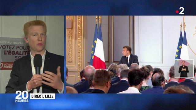 """Emmanuel Macron : Adrien Quatennens (LFI) parle d'un système """"à bout de souffle"""""""