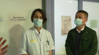 Covid-19 : un an après, comment va le patient zéro français ? (Capture d'écran France 2)