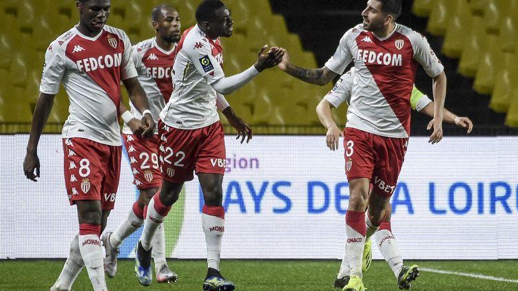 Youssouf Fofana pourrait manquer les Jeux Olympiques si Monaco souhaite le retenir pour les barrages de la Ligue des champions. (SEBASTIEN SALOM-GOMIS / AFP)