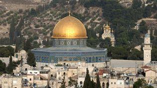 Dôme du Rocher, Jérusalem. (LORENZO DE SIMONE / LORENZO DE SIMONE / AFP)