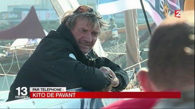 Vendée Globe : Kito de Pavant secouru in extremis