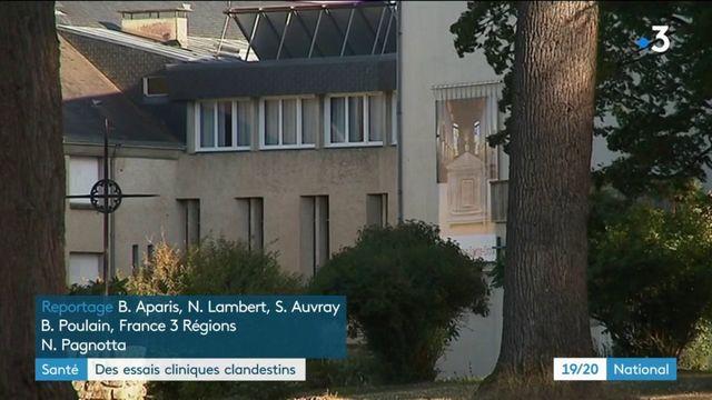 Santé : des essais cliniques clandestins menés dans une abbaye