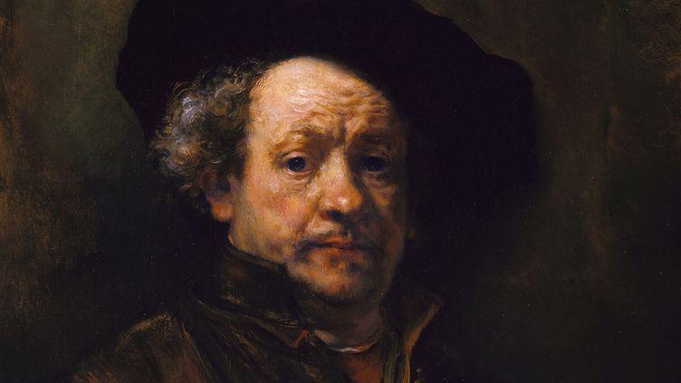 Autoportrait de Rembrandt - 1660  (Metropolitan Museum of Art)