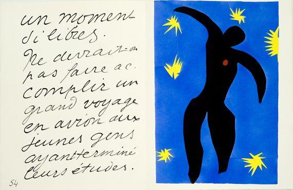 """Henri Matisse, """"Icare"""", 1947, 42,5 x 65 cm. (SUCCESSION H. MATISSE / MUSÉE DÉPARTEMENTAL MATISSE, LE CATEAU-CAMBRÉSIS, PHILIP BERNARD)"""