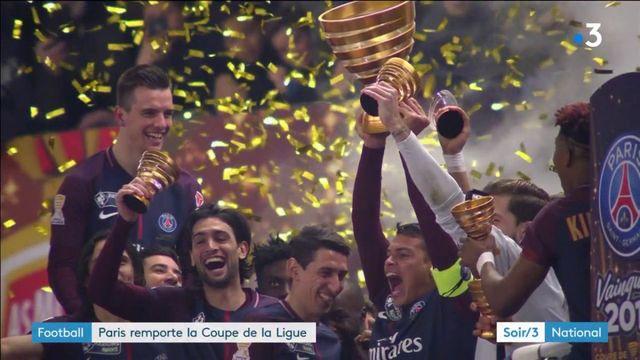 Football : le PSG remporte la Coupe de la Ligue