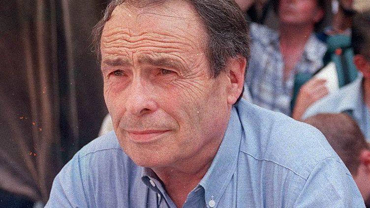 Pierre Bourdieu, philosophe et sociologue, le 24 Janvier 2001 à Millau dans l'Aveyron. (MILLA MAXPPP)