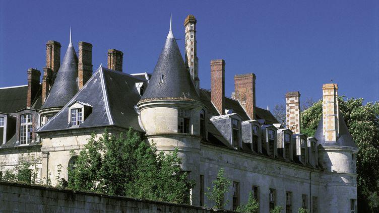 Aîle duchâteau de Villers-Cotterêts, situé dans l'Aisne. (DANIEL THIERRY / PHOTONONSTOP / AFP)