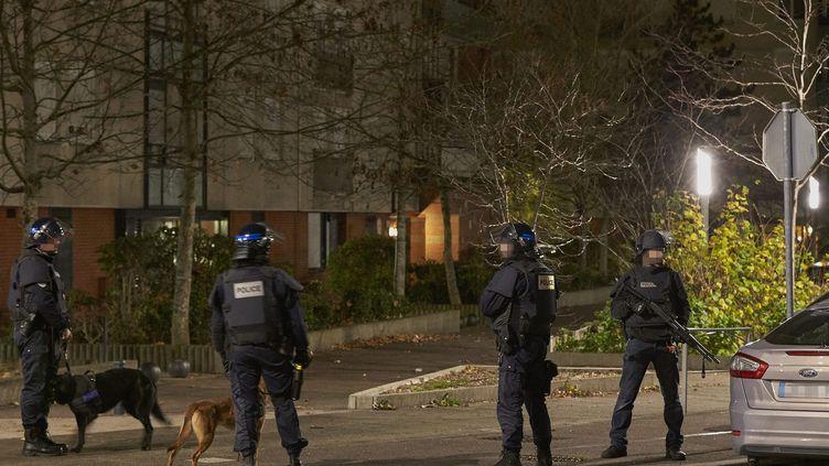 Les forces antiterroristes à Nancy en novembre 2015. Image d'illustration. (/NCY / MAXPPP)