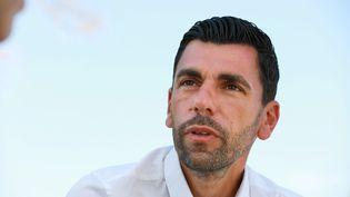 Sébastien Jibrayel, adjoint aux Sports à la ville de Marseille, le 13 août 2020. (VALERIE VREL / MAXPPP)