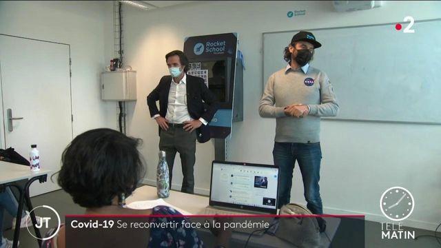 Emploi: ces Français qui se reconvertissent professionnellement pendant la crise sanitaire