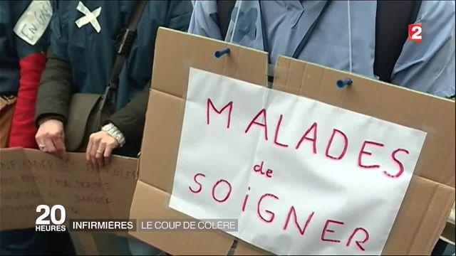 Santé : le personnel hospitalier est en colère