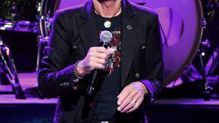 Le chanteur Ringo Starr en concert à Las Vegas (Etats-Unis), le 13 novembre 2016. (ETHAN MILLER / GETTY IMAGES NORTH AMERICA)
