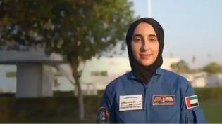 Nora Al Matrooshi intègre le programme spatial des Emirats arabes unis. (CAPTURE D'ECRAN TWITTER)