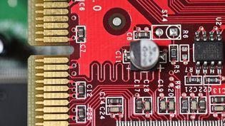 Circuit imprimé d'ordinateur. (Illustration) (BELGA / AFP)