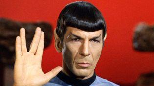 Spock et son légendaire salut vulcain...  (Landov / MaxPPP)