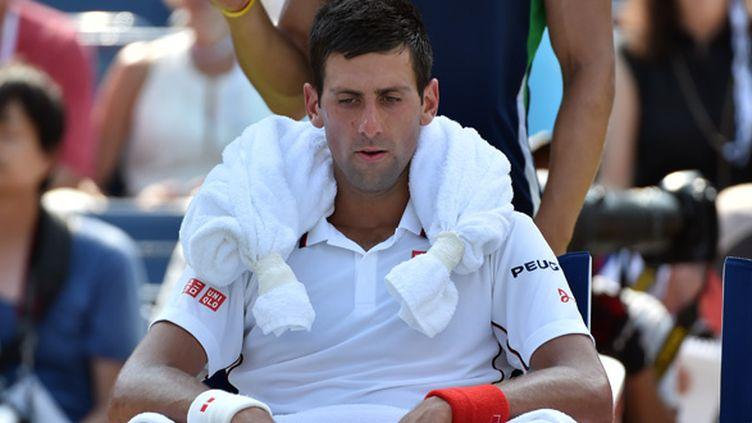Novak Djokovic (STAN HONDA / AFP)