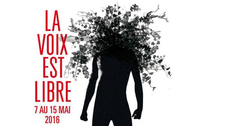 Affiche de l'édition 2016 (détail) du festival La Voix est libre  (DR)