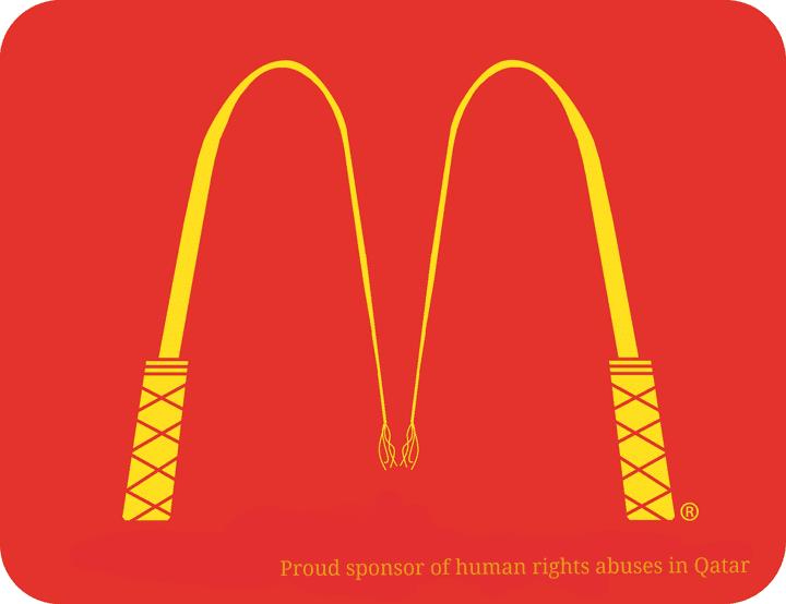 Le logo de McDonald's détourné par les internautes. (IMGUR.COM)