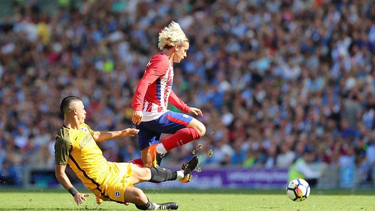 Antoine Griezmann, attaquant français de l'Atletico Madrid.  (BENNETT DEAN / PRO SPORTS IMAGES LTD)