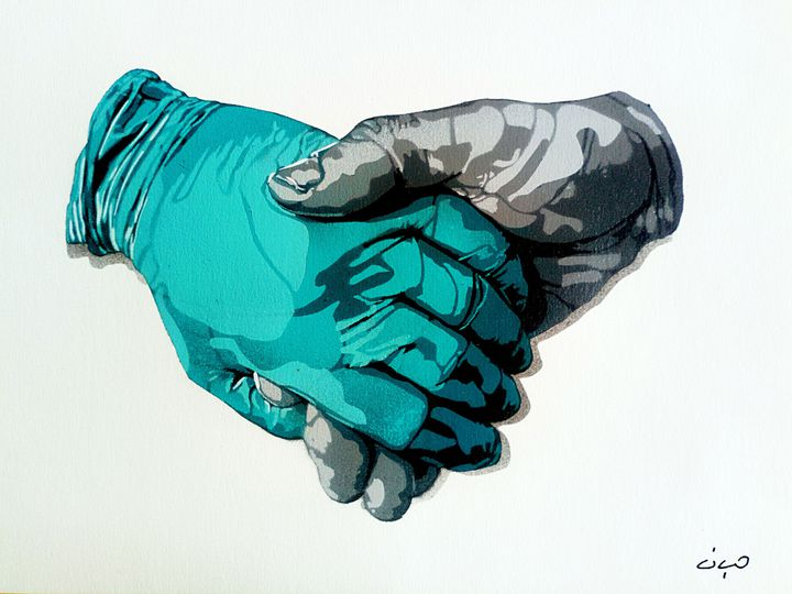 """Ciyo, """"La main sur le coeur"""" (SAATO)"""