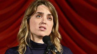 La comédienne Adèle Haenel, le 24 octobre 2019 à Vienne (Australie). (HANS PUNZ / APA-PICTUREDESK / AFP)