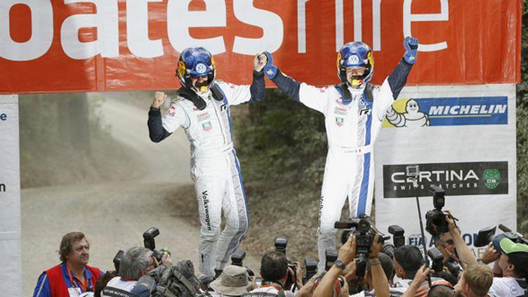 Sébastien Ogier et Julien Ingrassia, les nouveaux patrons du WRC (BILDAGENTUR KRÄLING / BILDAGENTUR KRÄLING)
