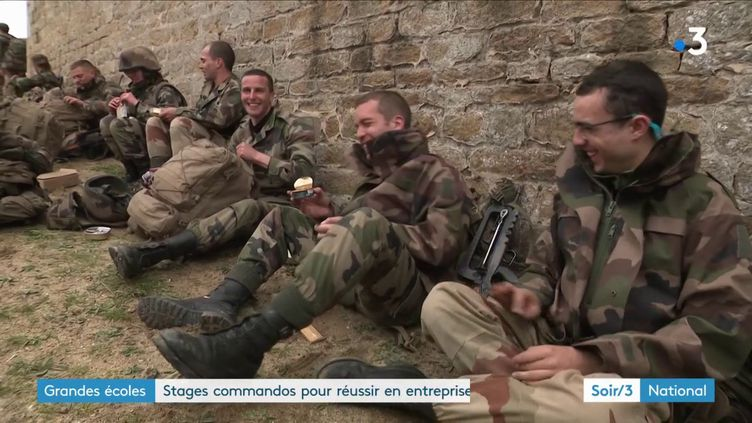 Un group de 30 étudiants par an participe à un stage commando de six mois (France 3)