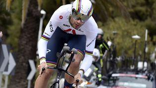 Filippo Ganna est l'un des favoris pour le prologue du Tour de Romandie. (AFP)