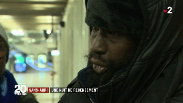 Sans-abri : une nuit de recensement