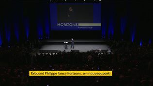 """Politique : Édouard Philippe lance son nouveau mouvement, """"Horizons"""" (FRANCEINFO)"""